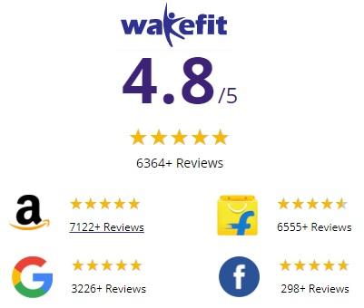 wakefit orthopedic memory foam mattress review