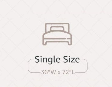 mattress size chart in india