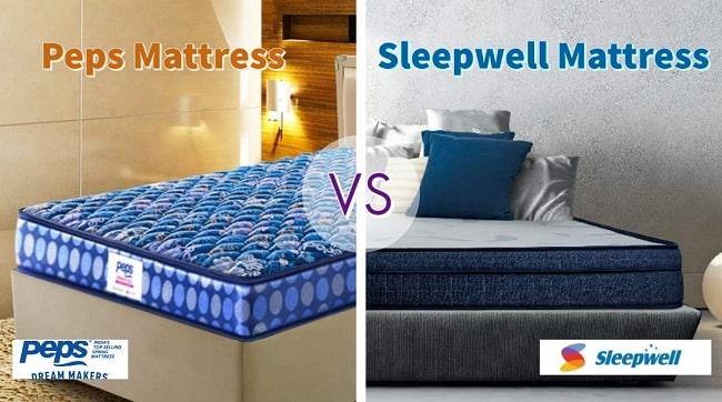 Peps Mattress Vs Sleepwell mattress